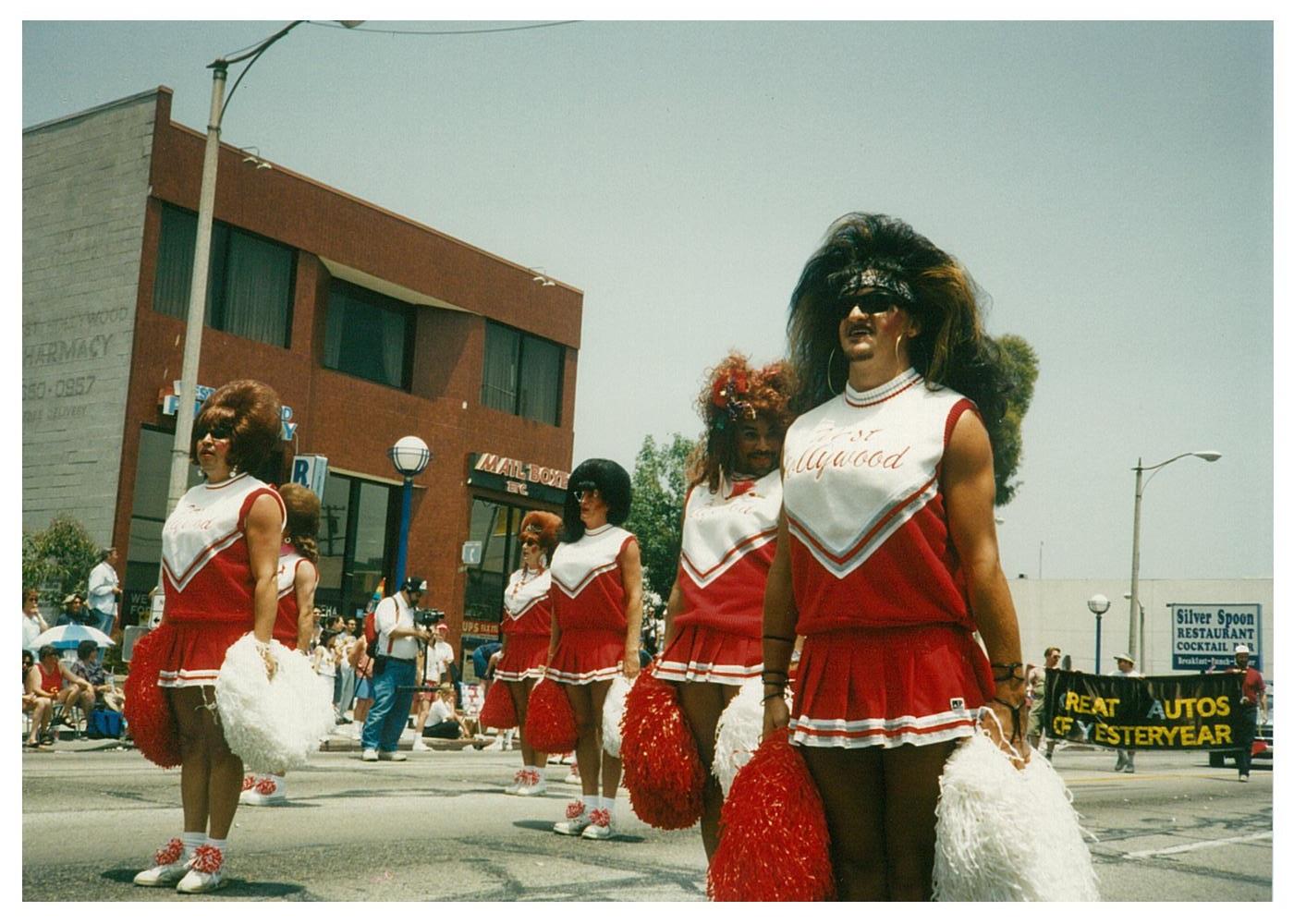 West Hollywood Cheerleaders   Ambassadors of Goodwill